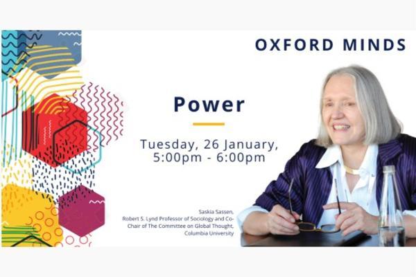 oxford minds event 26 jan