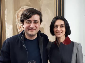 david maziashvili and mariam aleksidze